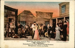 "Scene From the Great American Play ""The Virginian."""
