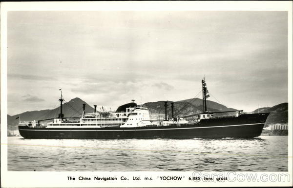 M.S. Yochow - The China Navigation Co. Boats, Ships