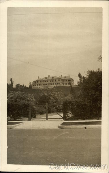 WWI Soldiers and Sailors Hospital Adjoining Bush Gardens