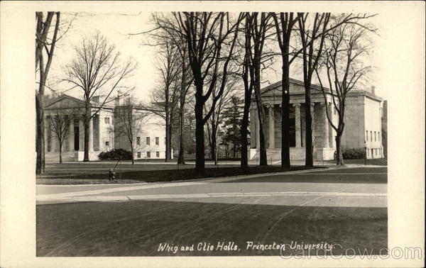Princeton University - Whig and Clio Halls New Jersey