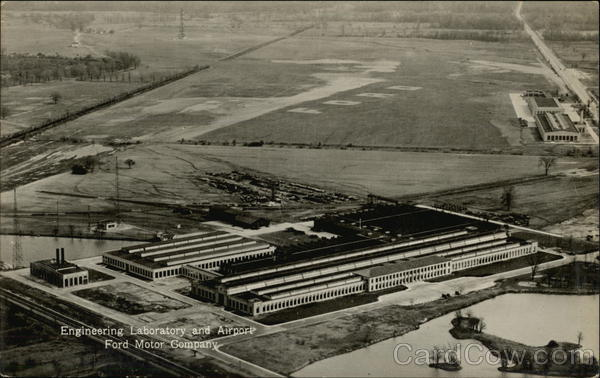 Dearborn Engineering Laboratory and Airport - Ford Motor Company Michigan