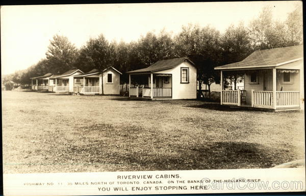 Riverview cabins Camping