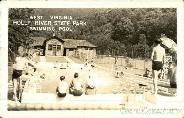 Holly River State Park Swimming Pool Hacker Valley Wv