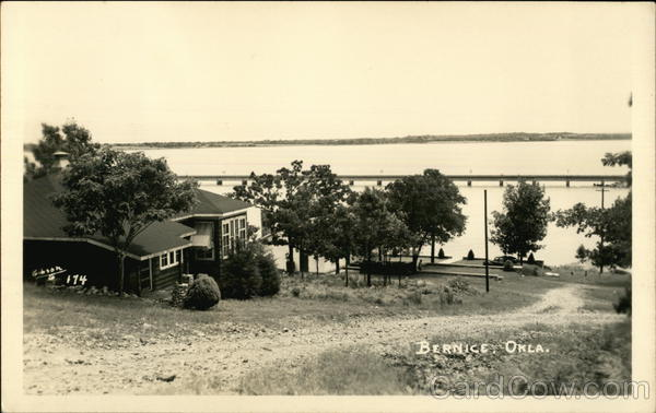 View of Grand Lake o' the Cherokees Bernice Oklahoma