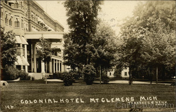Colonial Hotel Mount Clemens Michigan
