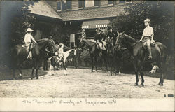 The Roosevelt Family at Sagamore Hill