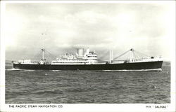 M.V. Salinas - The Pacific Steam Navigation Co.