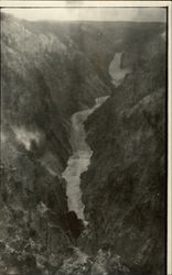 View of Yellowstone River 1919