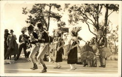 Native Americans dancing at the Grand Canyon National Park