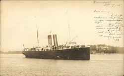 Early 20th century ship