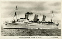 "Canadian Pacific S.S. ""Empress of Britain"""