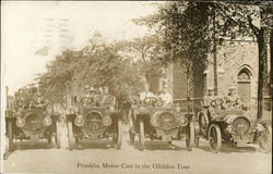 Franklin Motor Cars in the Glidden Tour
