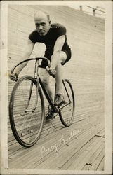 Percy Cutler, Bicycle Racer