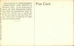 Dearborn Engineering Laboratory and Airport - Ford Motor Company