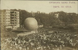 Opening of the Aero Park, September 15, 1908