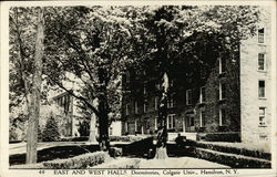 Colgate University - East and West Halls, Dormitories