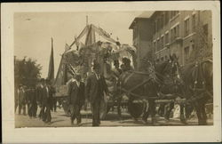 Horse-Drawn Parade Float