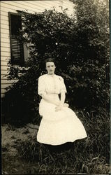 Portrait of Young Girl, Grace, Outside Home
