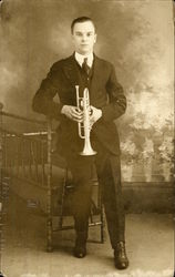 Studio Portrait - Man with Trumpet