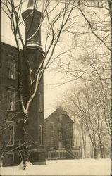 Antioch College Buildings in Snow