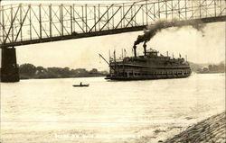Scene on Ohio River - Riverboat