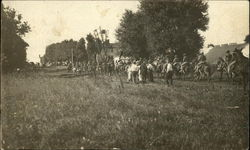 3rd Squadron, 15th Cavalry enters the town of Wauseon, Ohio in 1909