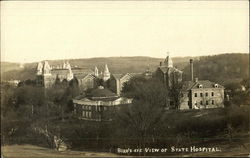 Bird's Eye View of State Hospital