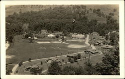 Aerial view of the 4-H grounds