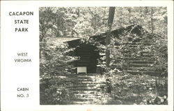 Cabin No. 3, Cacapon State Park
