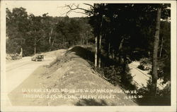 U curve, Laurel Mt., U.S. 50, west of Macomber, W.Va.