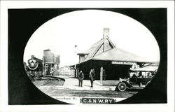 C. & N.W. Railway Depot