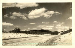 Looking East to Maynard Pass, U.S. Highway 16 Postcard