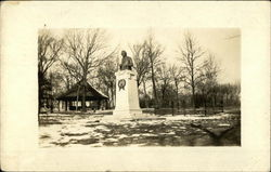 The Schiller monument in Riverview Park