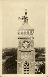 Clock tower of Decatur County Courthouse