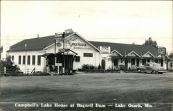 Campbell's Lake House at Bagnell Dam