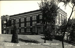 Science Building at William Jewell College Postcard