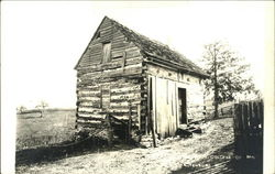 Early 20th century log cabin