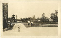 City water works in 1913 Postcard