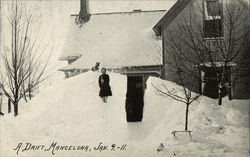A drift, Mancelona, Jan. 9, 1911.