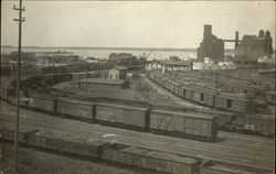 Anchor Line docks and Penna. R.R. coal and ore docks