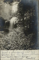 Cascades in the Delles of St. Croix