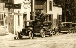 Model T Cars, Advertising Signs