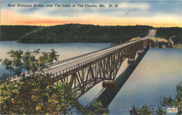 New Niangua Bridge Over The Lake Of The Ozarks Missouri