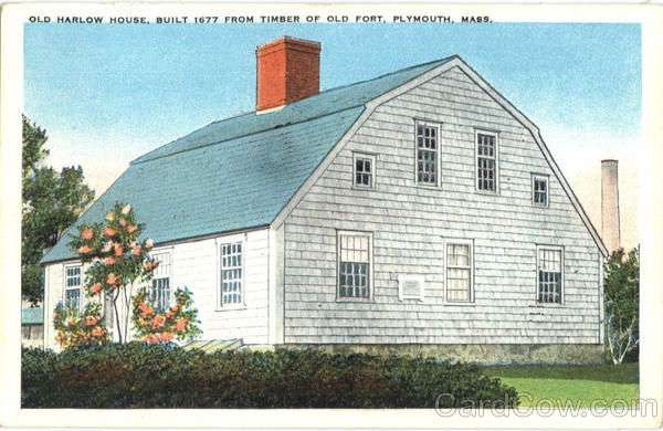 Old Harlow House Plymouth Massachusetts