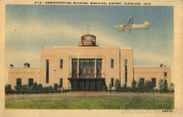 Administration Building Municipal Airport Cleveland Ohio