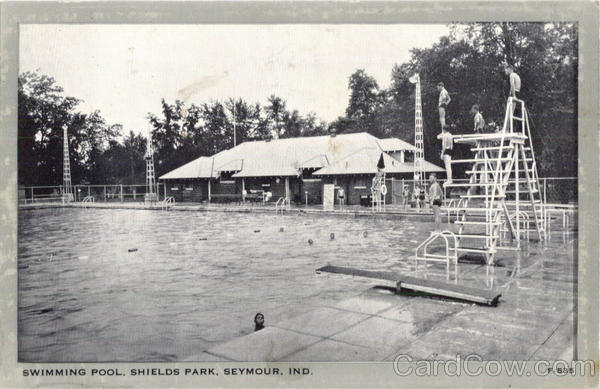 Swimming Pool, Shields Park Seymour Indiana