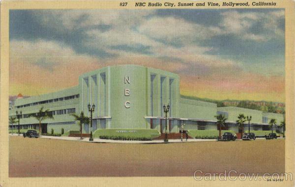 Nabco Radio City, Sunset and Vine Hollywood California