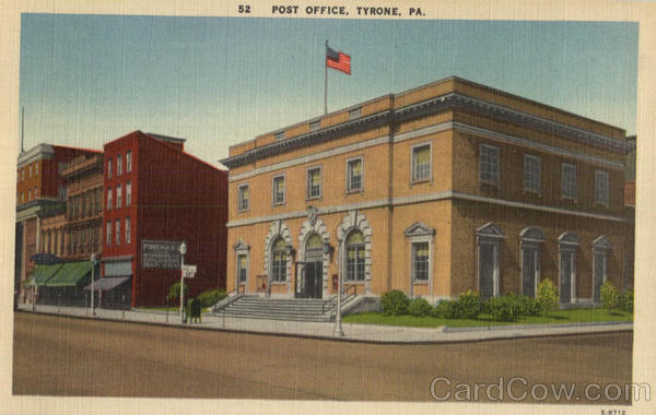 Post Office Tyrone Pennsylvania
