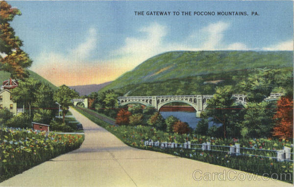 The Gateway To The Pocono Mountains Poconos Pennsylvania