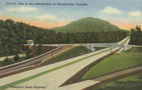 America's Super Highway Pennsylvania Turnpike